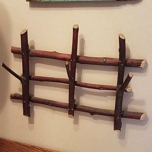 Branch hanger rack